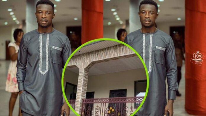 Actor, Kwaku Menu unveils the new house he built for his mum and dad - Video